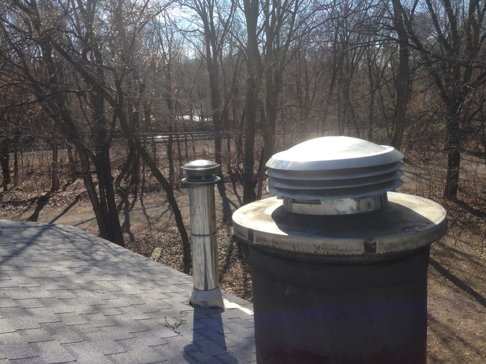 Hudson, WI - Installed a furnace gas cap