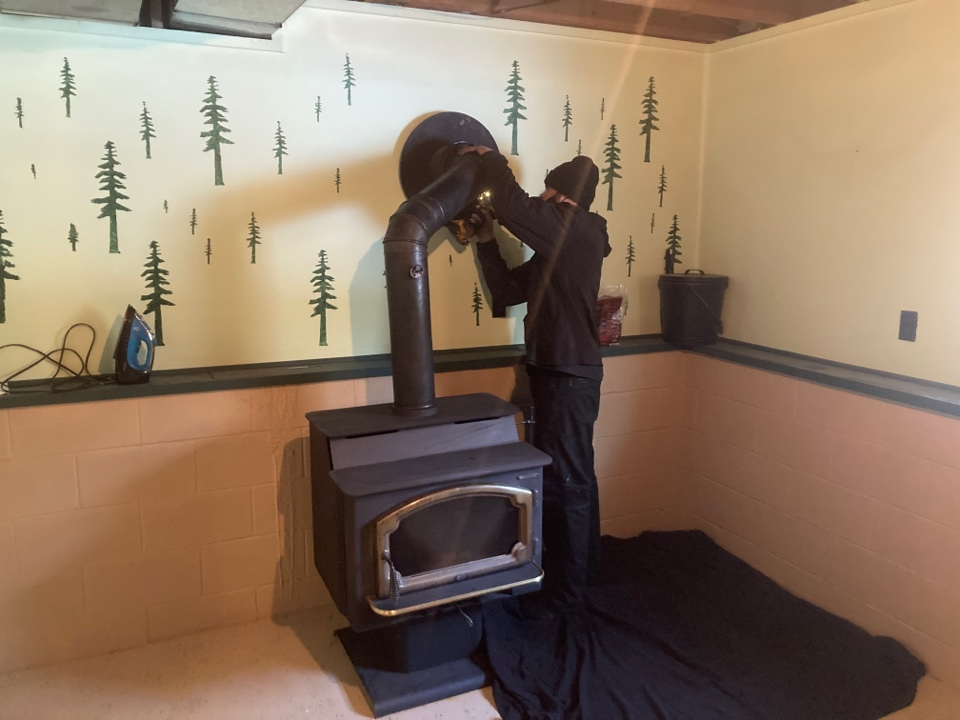 East Bethel, MN - Chimney cleaning and smartscan flue liner inspection -proposal for new lining system