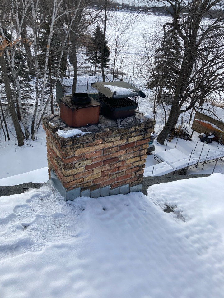 Chisago City, MN - Chimney clean and smart scan flue liner inspection