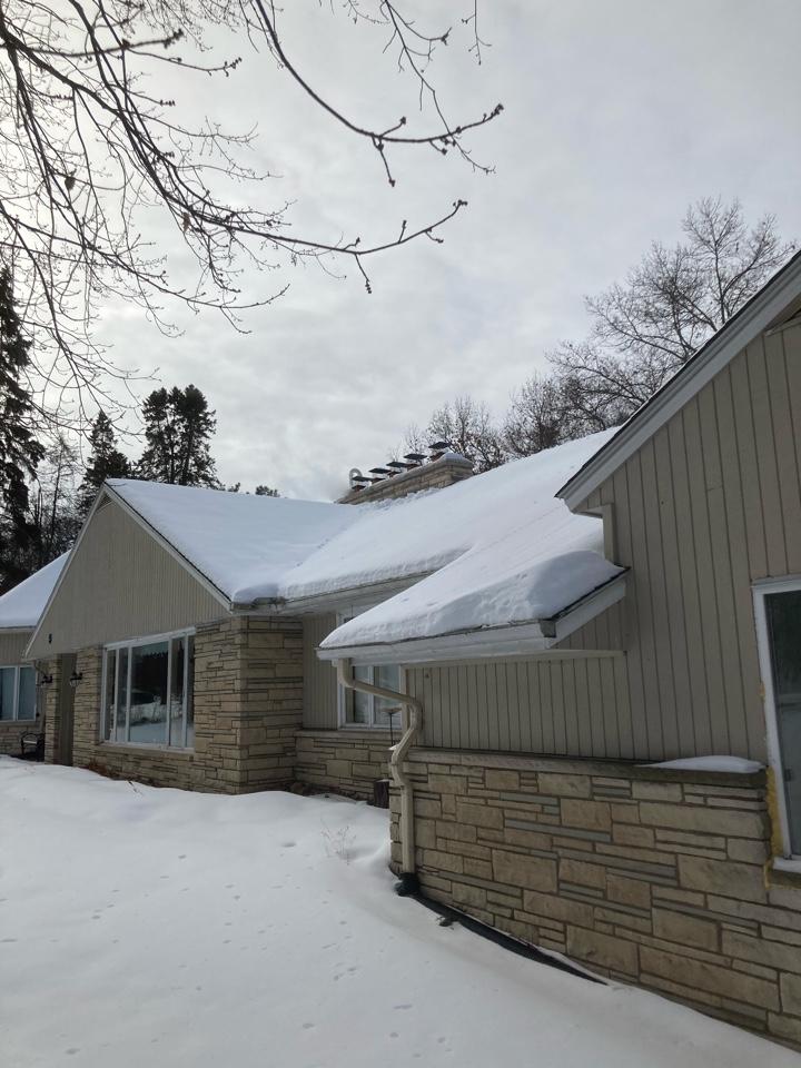 North Oaks, MN - Gave estimate for repair work