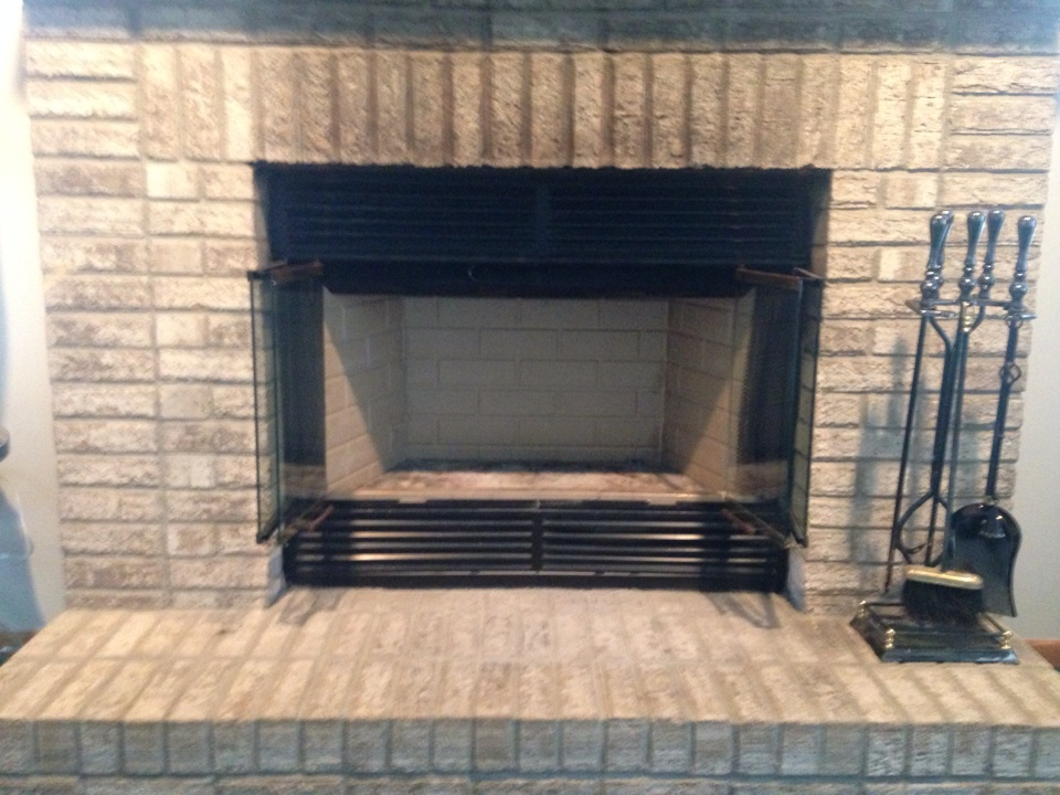 Savage, MN - Install new refractory panels in a prefab fireplace