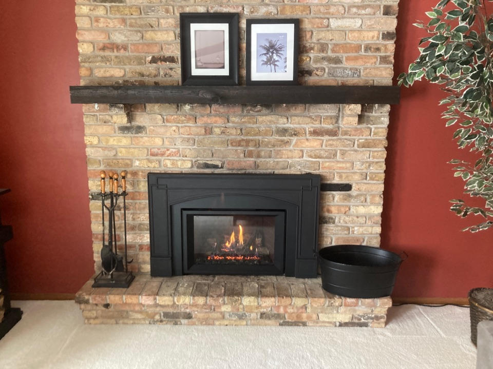 Ramsey, MN - New gas insert install