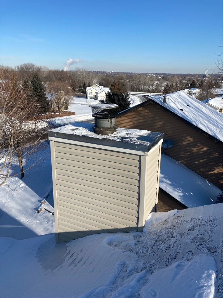 Lakeville, MN - Chimney clean and smart scan flue liner inspection