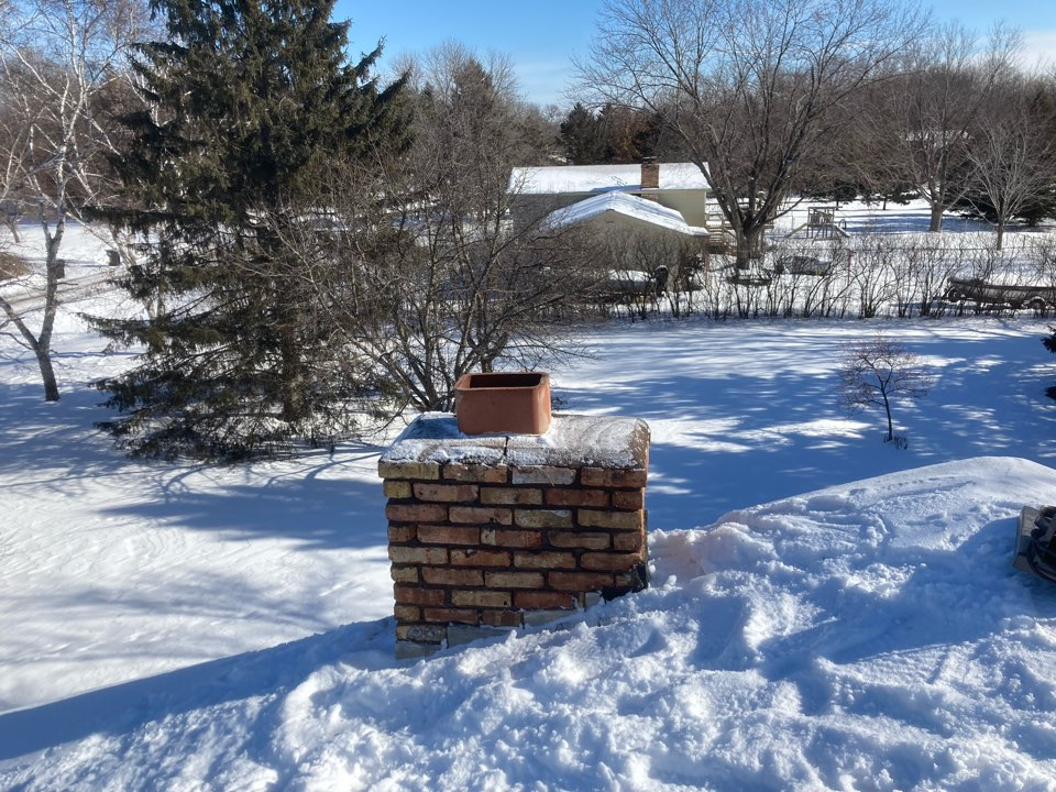 Ramsey, MN - Chimney clean and smart scan flue liner inspection