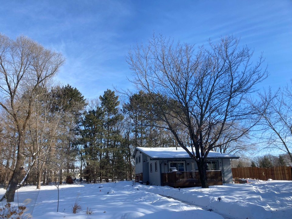East Bethel, MN - Installed new wood insert