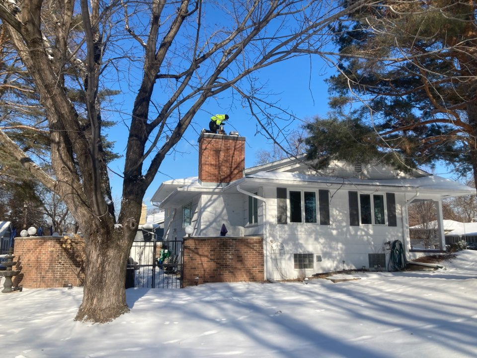 Edina, MN - Chimney and dryer vent cleaning and inspection