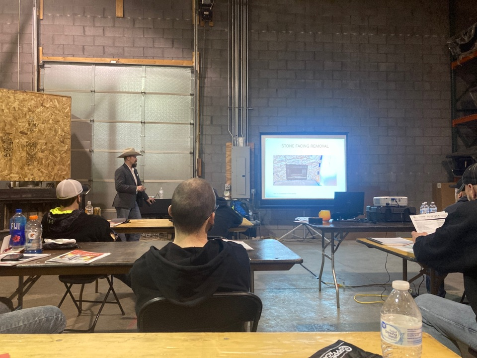 Burnsville, MN - Ventis Forever Fireplace training