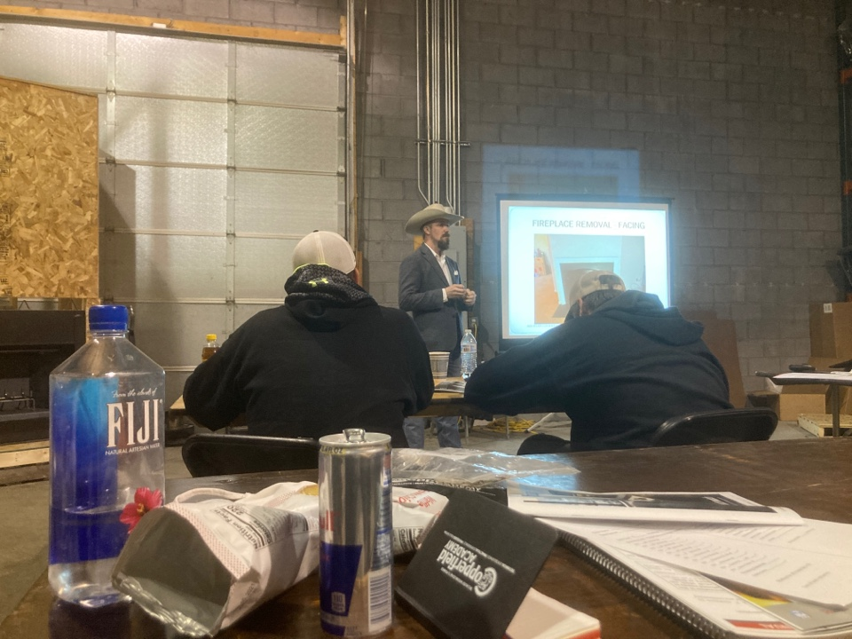 Burnsville, MN - Ventis fireplace training