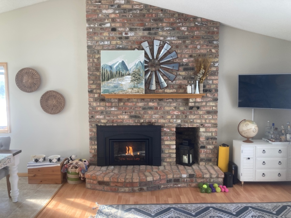 East Bethel, MN - Fireplace cleaning