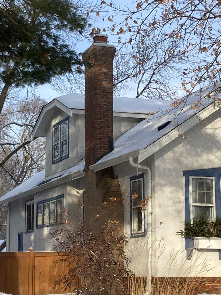 Minneapolis, MN - Sealed chimney