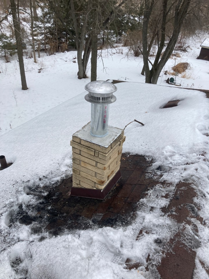 Vadnais Heights, MN - Chimney clean and smart scan flue liner inspection