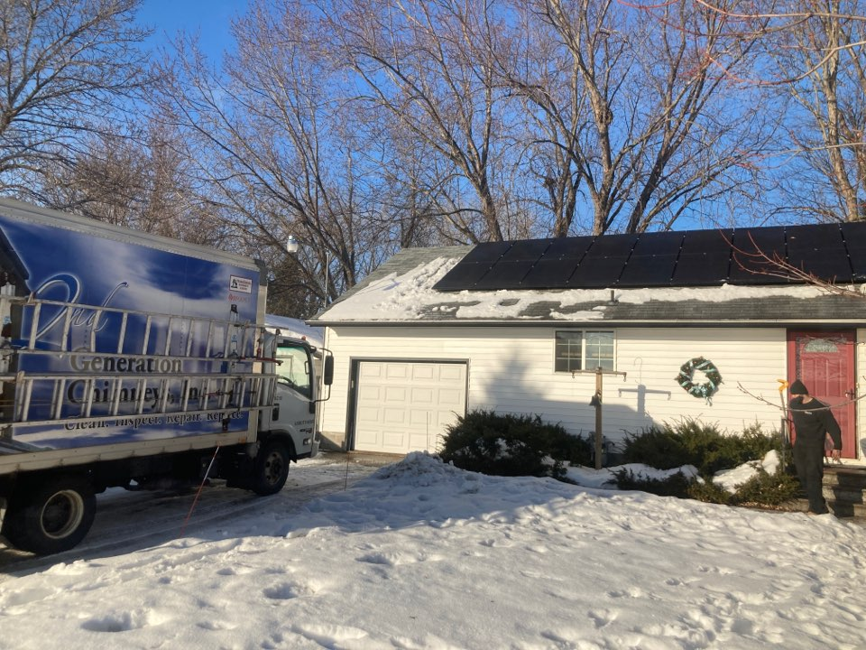 Forest Lake, MN - Annual chimney cleaning and smartscan flue liner inspection