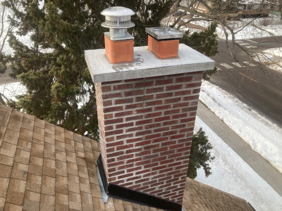 Anoka, MN - Annual chimney cleaning and smartscan flue liner inspection