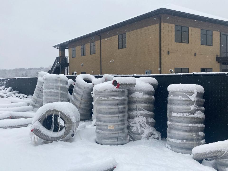 East Bethel, MN - Snow? ⛄️ ❄️