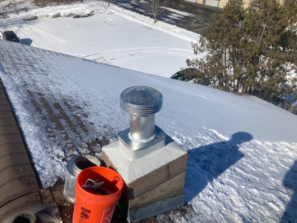 White Bear Lake, MN - Leaky chimney repair