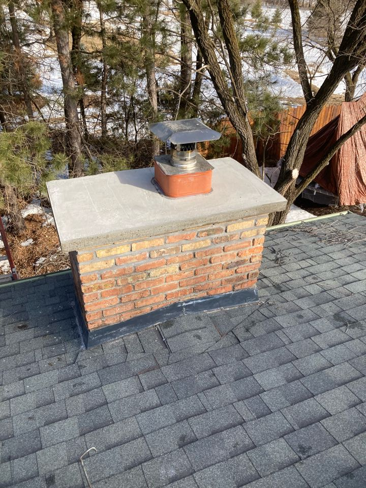 Sealed chimney