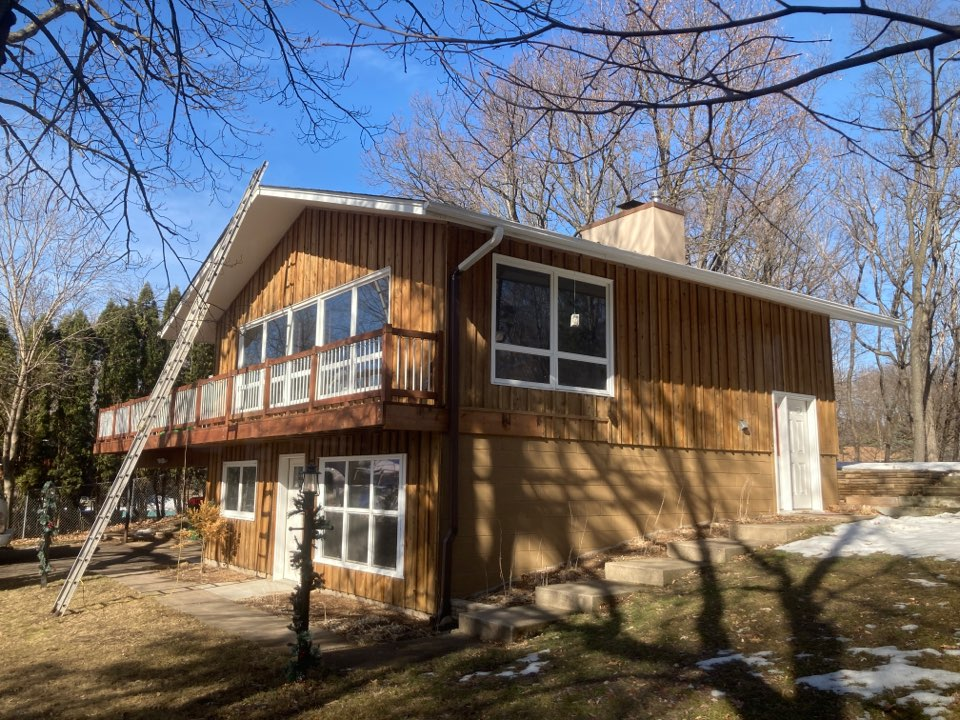 Vadnais Heights, MN - Chimney cleaning and double smartscan flue liner inspection - proposals for repairs