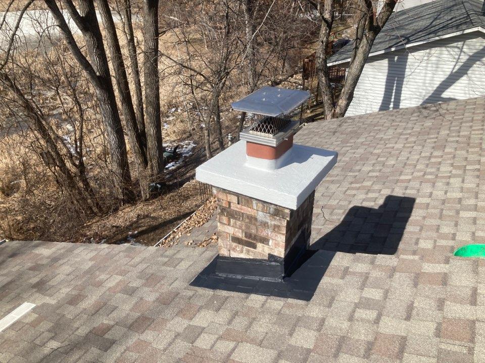 Stillwater, MN - Crown flashing and brick sealant repair