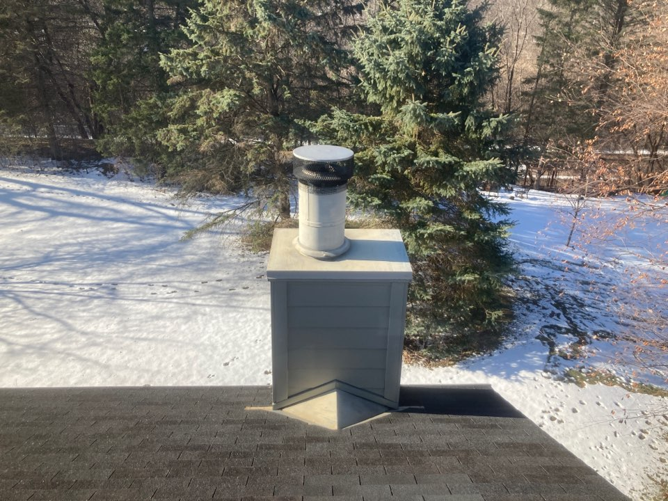 Wayzata, MN - Chimney cleaning and smartscan flue liner inspection