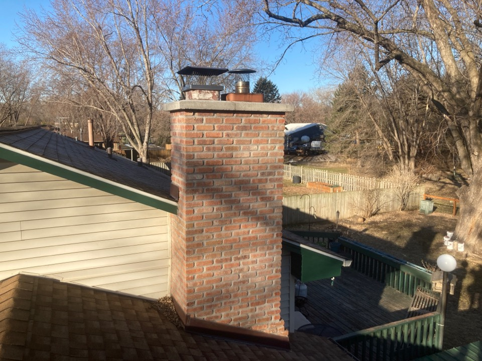 Chaska, MN - Annual chimney cleaning and smartscan flue liner inspection