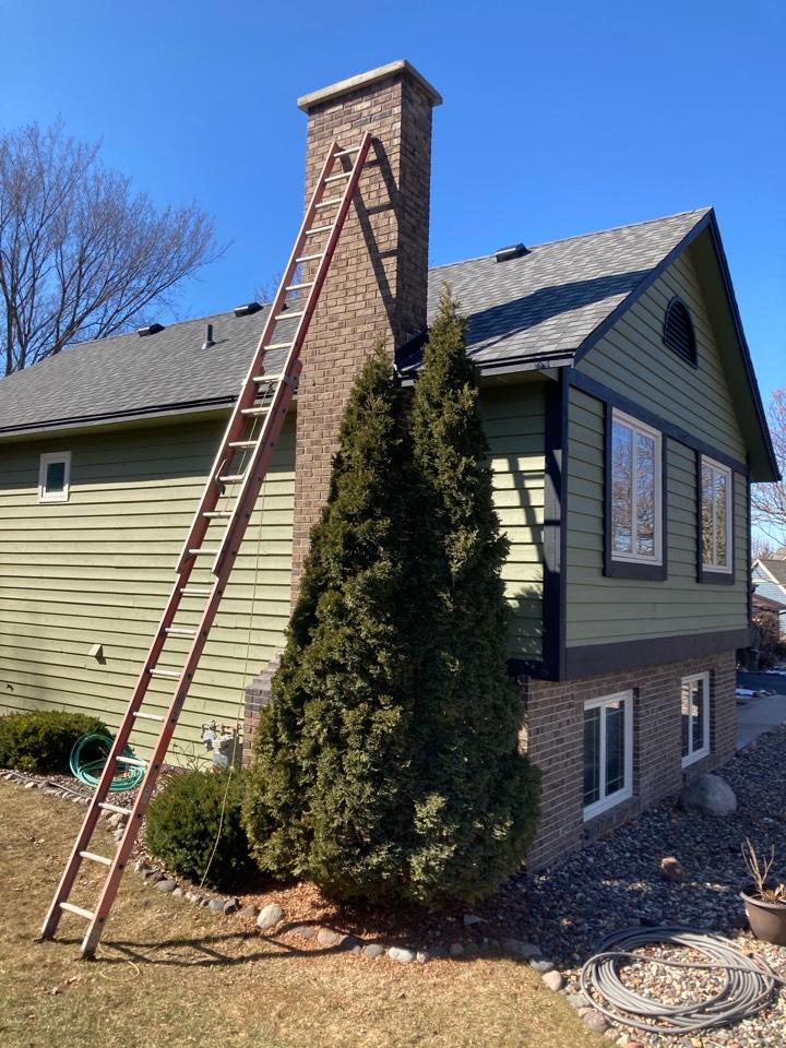 Eden Prairie, MN - Sealed chimney