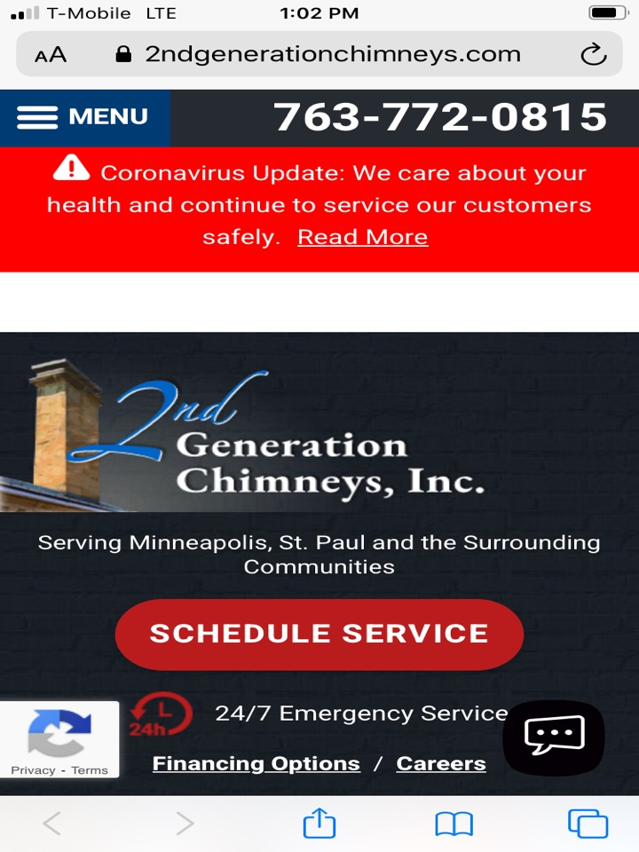 East Bethel, MN - Check out our new website @ www.2ndgenerationchimneys.com Home of the ChimFan 1-888-PIXLEYS