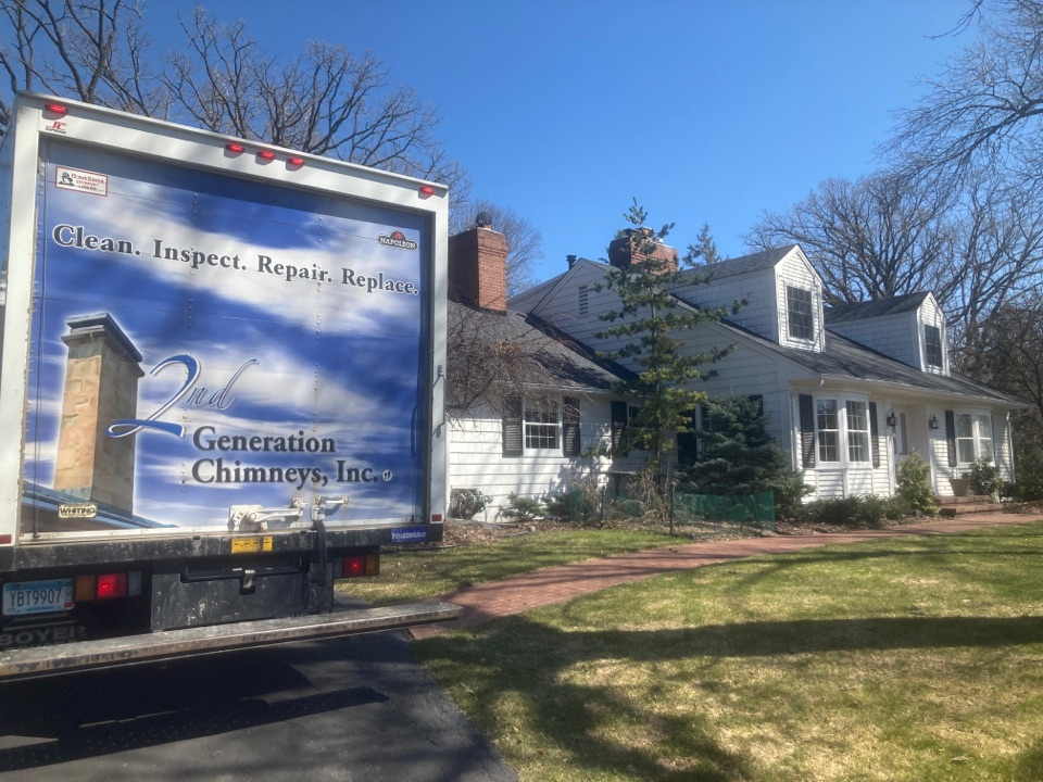 Minneapolis, MN - Annual chimney cleaning and smartscan flue liner inspection