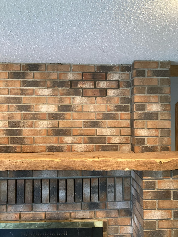East Bethel, MN - Replaced 4 brick