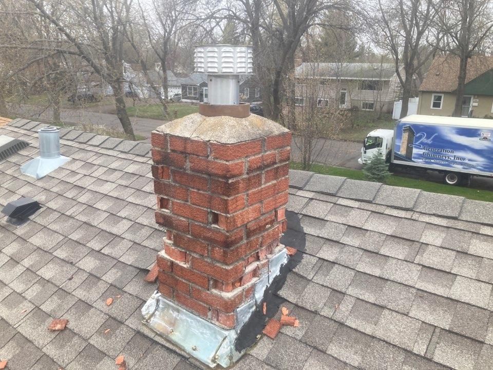 North Saint Paul, MN - Proposal for roofline rebuild