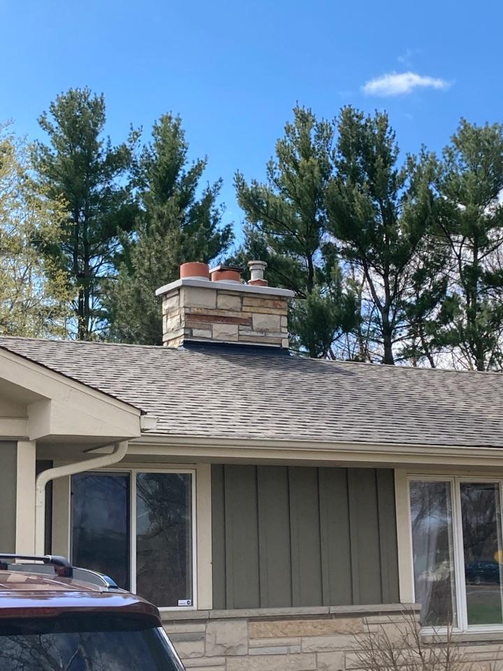 Lindstrom, MN - Sealed chimney