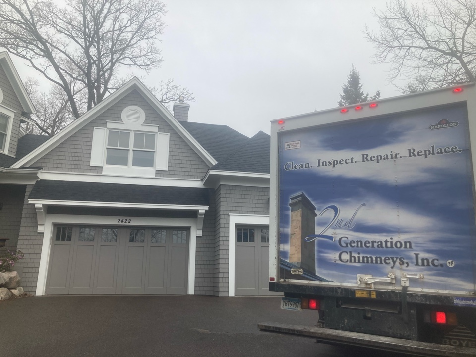 Wayzata, MN - Annual clean and smartscan flue liner inspection