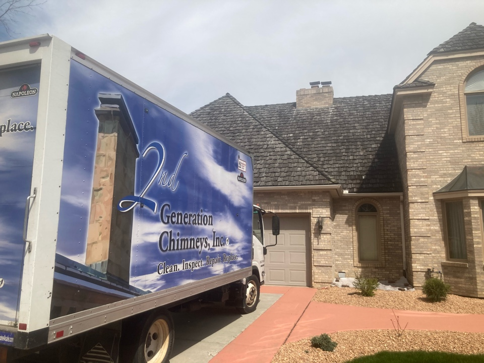 Eden Prairie, MN - Double chimney cleaning and smartscan flue liner inspection - proposal for repairs and insert options