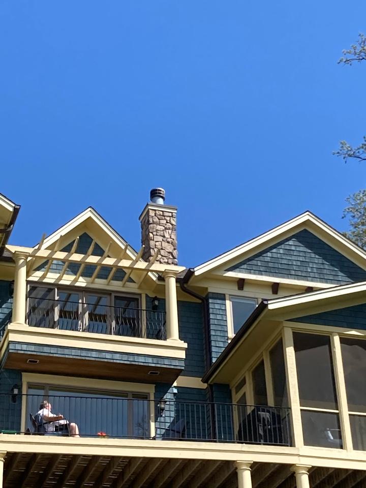 Mound, MN - Rebuilt chimney