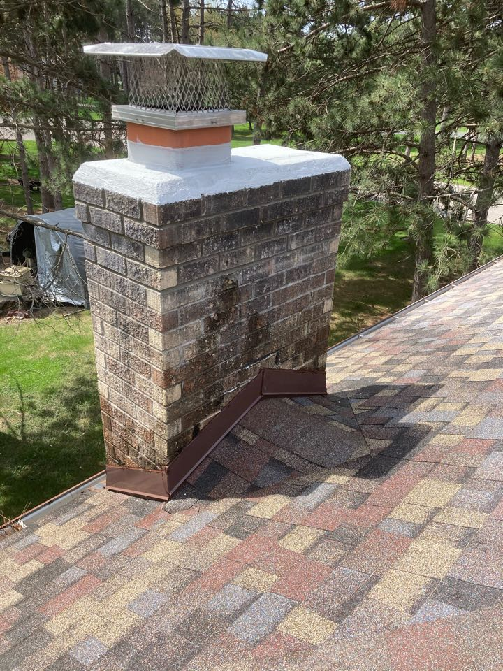 Lino Lakes, MN - Tuck point/ crown coat/ screen and rain over
