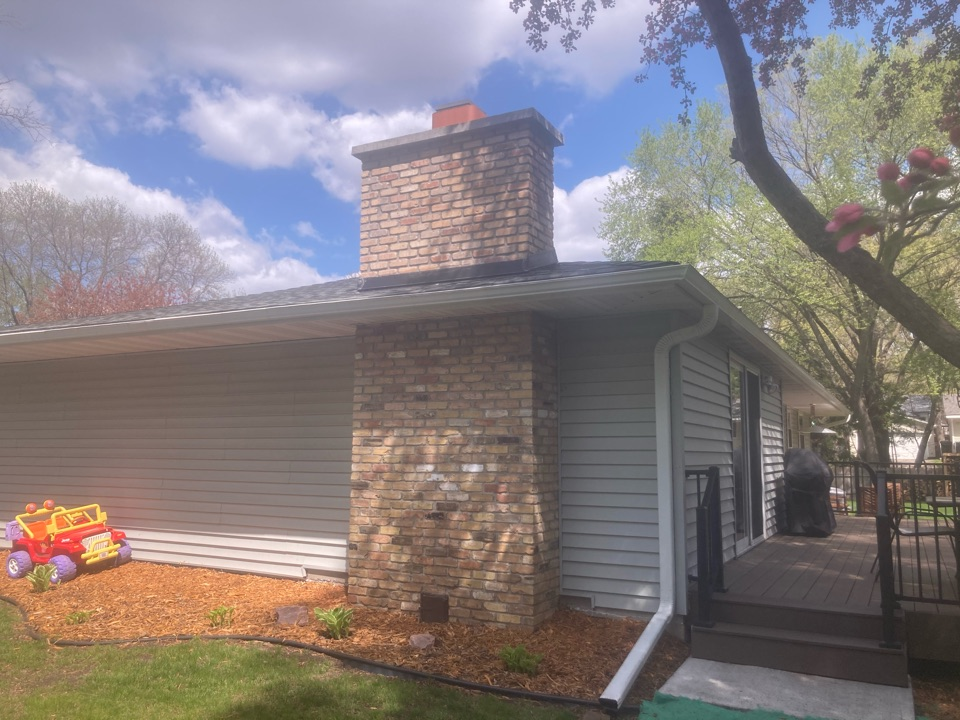 Shoreview, MN - Annual chimney cleaning and smartscan flue liner inspection
