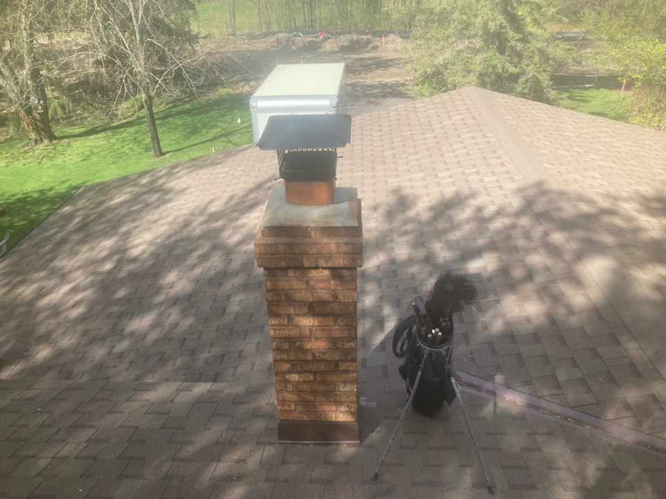 """Ham Lake, MN - Booked for a new 8"""" as liner install and a new crown"""