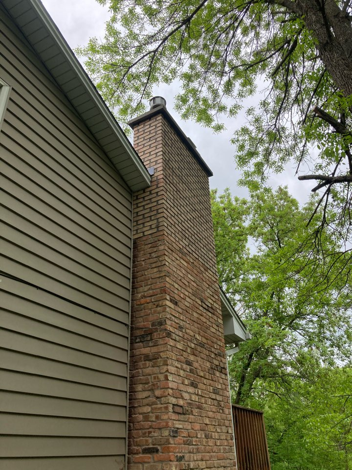Ramsey, MN - Pop and plug brick and clean up