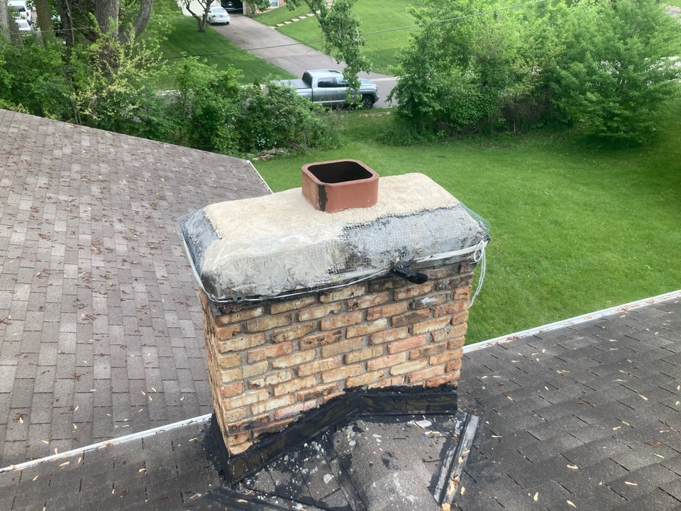Plymouth, MN - 2nd opinion on chimney fire - proposals for repair options