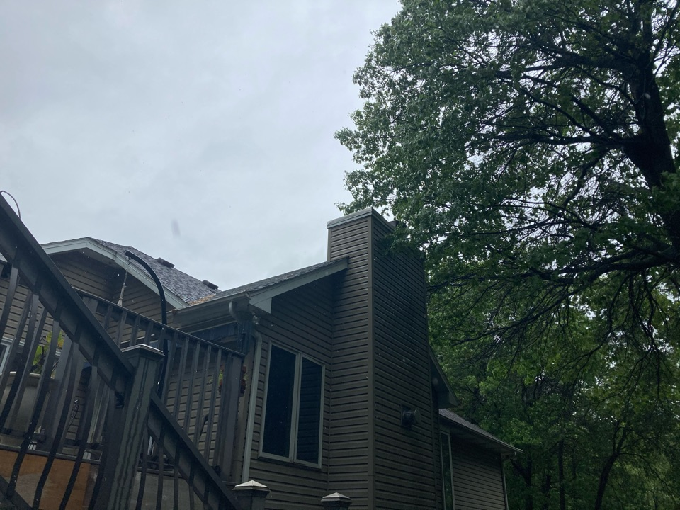 East Bethel, MN - Installed new chase top