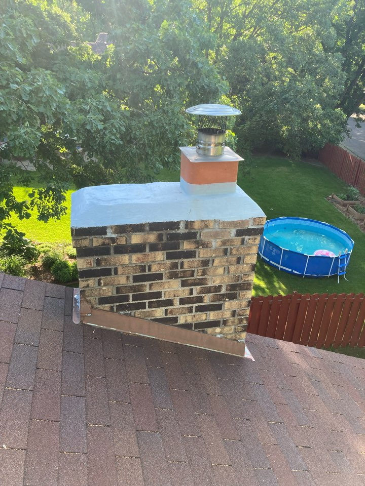 Maple Grove, MN - Chimney clean and smart scan flue liner inspection