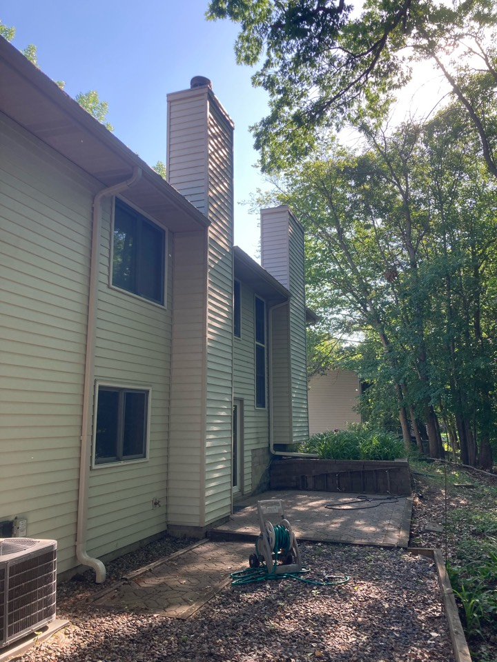 Maple Grove, MN - Double chimney clean and smart scan flue liner inspection