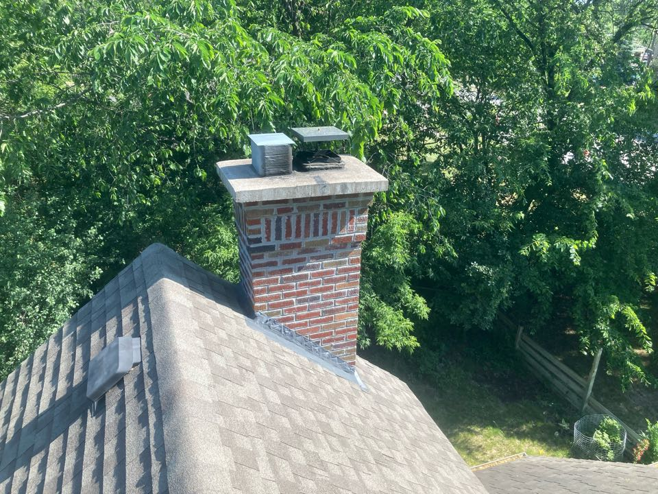 Annual chimney cleaning and smartscan flue liner inspection