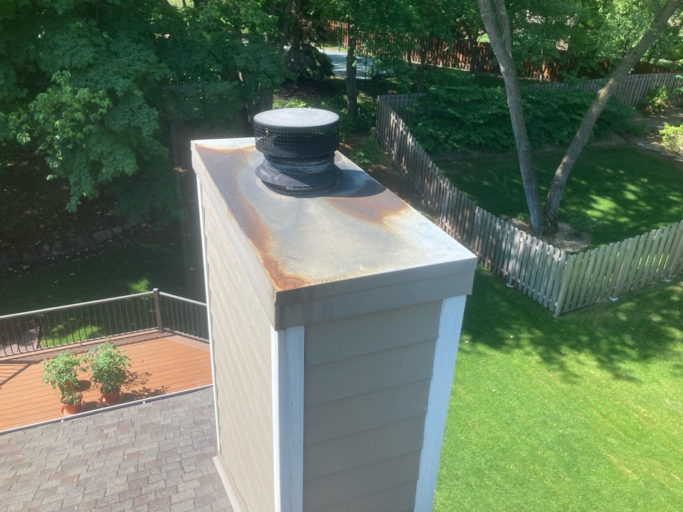 Chimney cleaning and smartscan flue liner inspection- proposal for new refractory panels and a new chase top