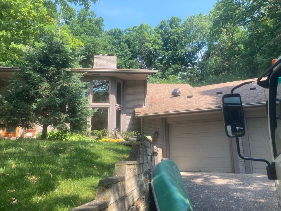 Edina, MN - Chimney cleaning and double smartscan flue liner inspection- proposals for insert options and traditional repairs