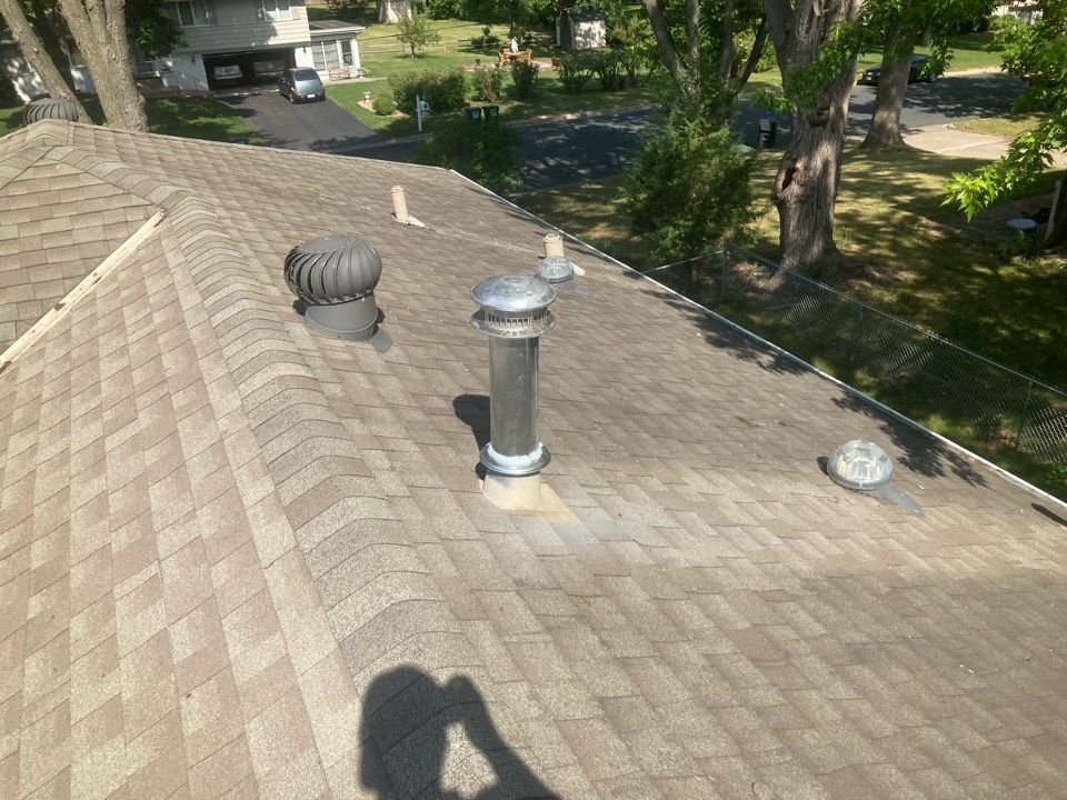 Bloomington, MN - Installed a new cap and collar