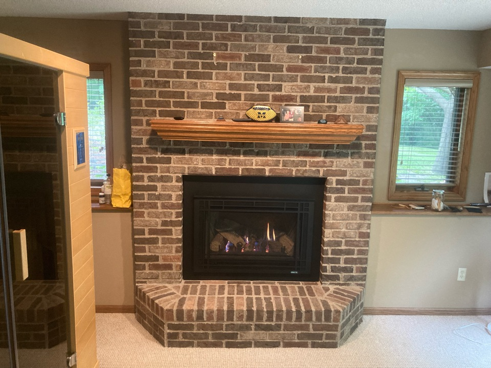 Hugo, MN - Fireplace inspection
