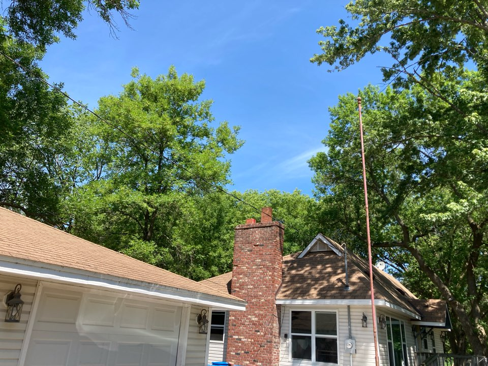 Forest Lake, MN - Double chimney clean and smart scan flue liner inspection