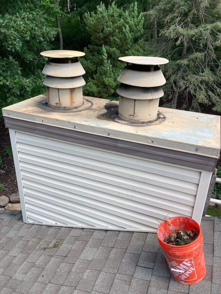 Burnsville, MN - Double chimney clean and smart scan flue liner inspection