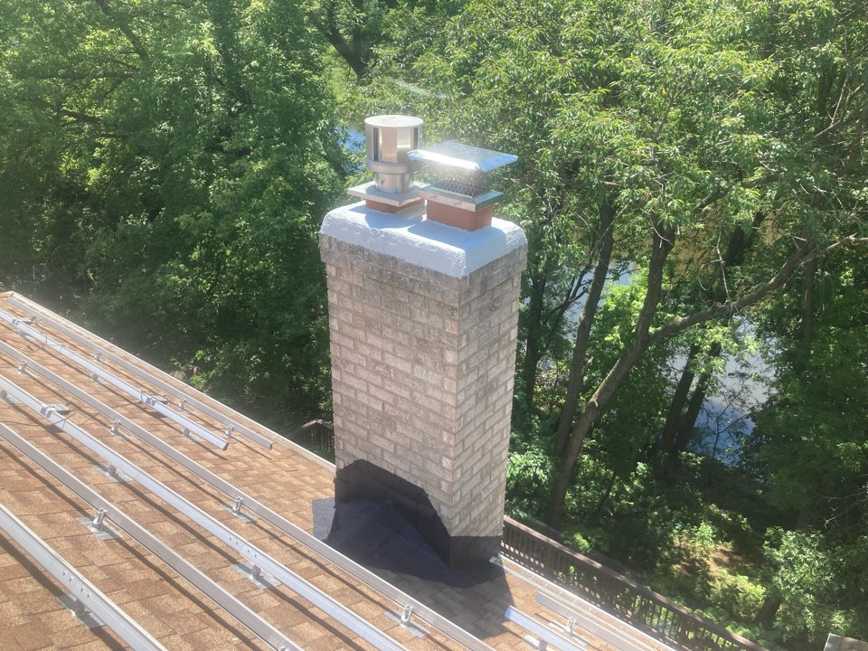 Eden Prairie, MN - Crown repair - flashing repair - shoulder repair - brick sealant