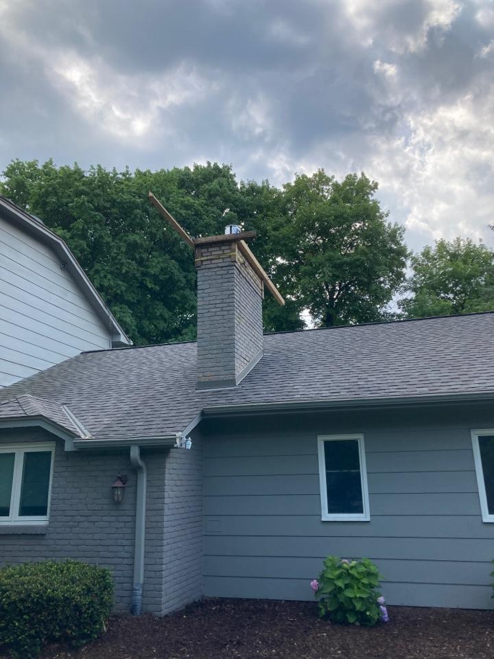 Minnetonka, MN - Rebuilt chimney